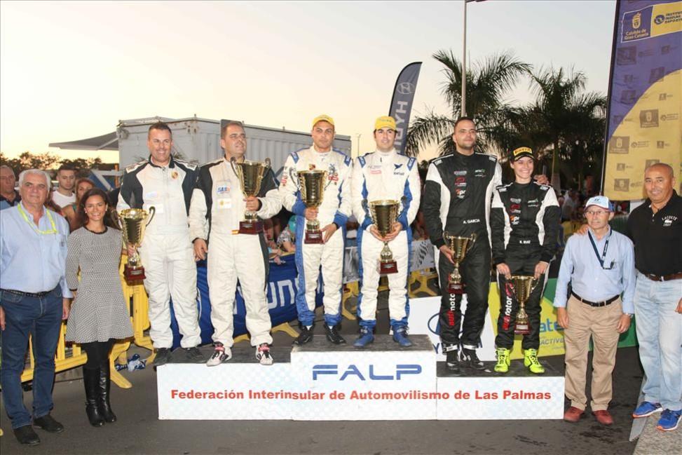 El equipo DISA Copi Sport se proclama vencedor del Campeonato de Canarias de Rallyes