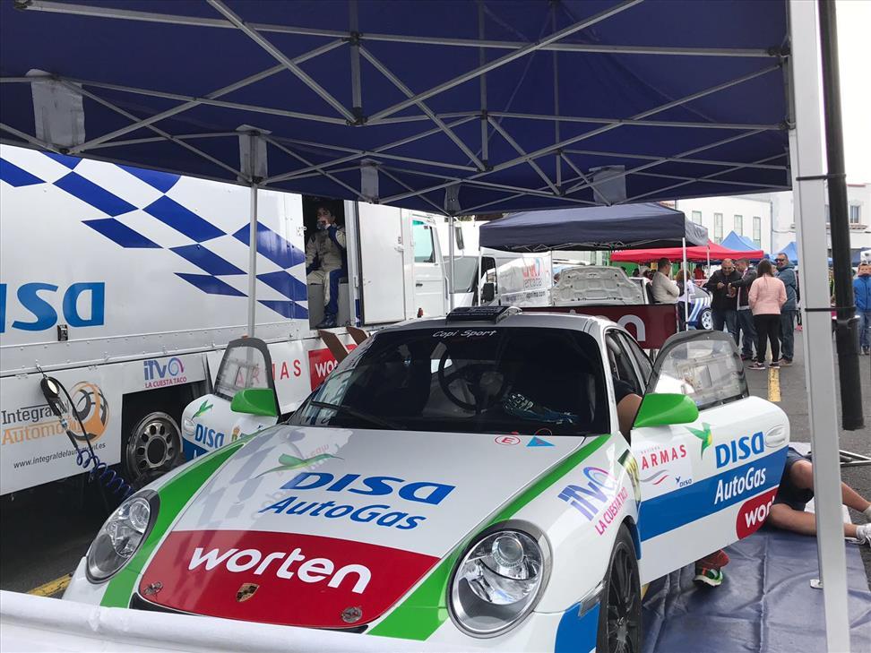 DISA AutoGas - Porsche Enrique Cruz