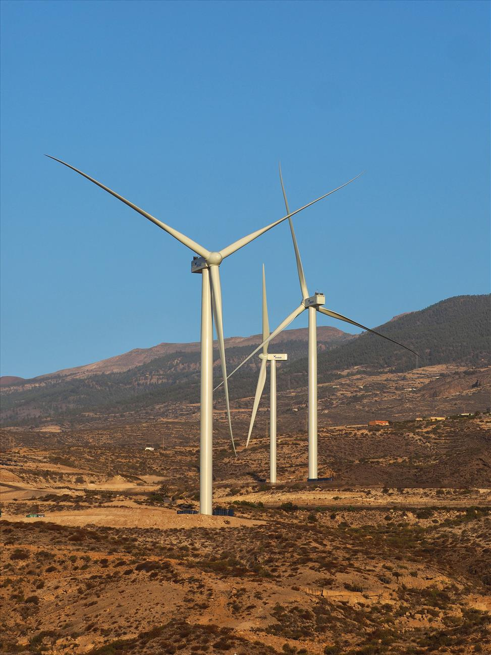 DISA incorpora 44 MW de potencia eólica a la red eléctrica del Archipiélago